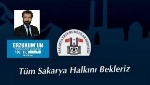 Sakarya Erzurumlular Derneğinden Kurtuluş Gecesi