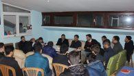 Arifiye Ülkü Ocaklarında Üniversiteli Gençler ile sohbet