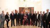 Sakarya Ticaret Borsası Yeni Yönetiminden Vali Balkanlıoğlu'na Ziyaret