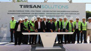 Vali Balkanlıoğlu Tırsan Low-bed Fabrikasının Temel Atma Törenine Katıldı