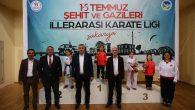 Başkan Karakullukçu '15 Temmuz Şehitler ve Gaziler Karate Turnuvası' açılışına katıldı