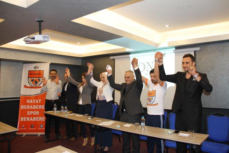 'Hayat Berabere Spor Berabere' Projesinin tanıtımı yapıldı.