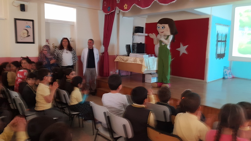 Arifiye Neviye İlkokulu'nda Çevre Dostu Çocuk Eğitimi Verildi