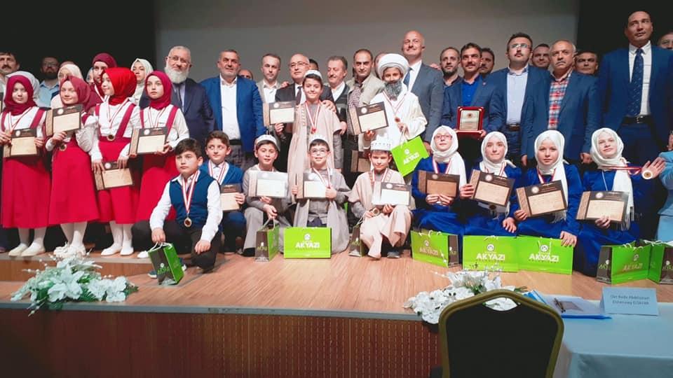 Arapça Yarışmalarında Arifiye Prof.Dr. Osman Öztürk İ.H.O İl Birincisi Oldu