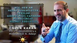 Önder Karan 'Vira Bismillah'la Milletvekili adaylığını açıkladı