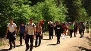 150. yürüyüşe Kıranyurt ev sahipliği yaptı