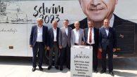 """""""Şehrim 2023"""" projesinin otobüsü Sakarya'ya geldi."""