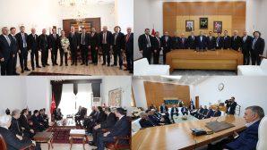 SATSO'dan Vali Balkanlıoğlu ve Başkan Toçoğlu'na ziyaret
