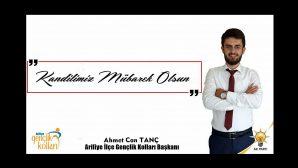 AK Parti Arifiye Gençlik Kolları Başkanı TANÇ ' ın Kandil Mesajı ;