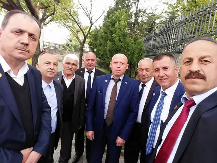 Arifiye'nin Muhtarları Ankara'da