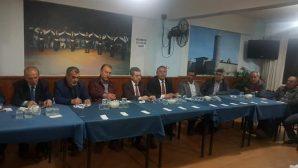 Arifiye Erzurumlular Derneği İlçe Yöneticilerini misafir etti