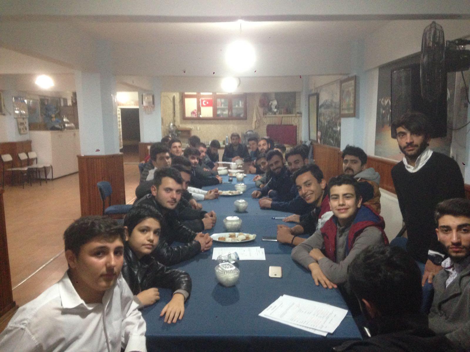 Arifiye Erzurumlular Derneği Gençlik Kollarında yeni heyecan