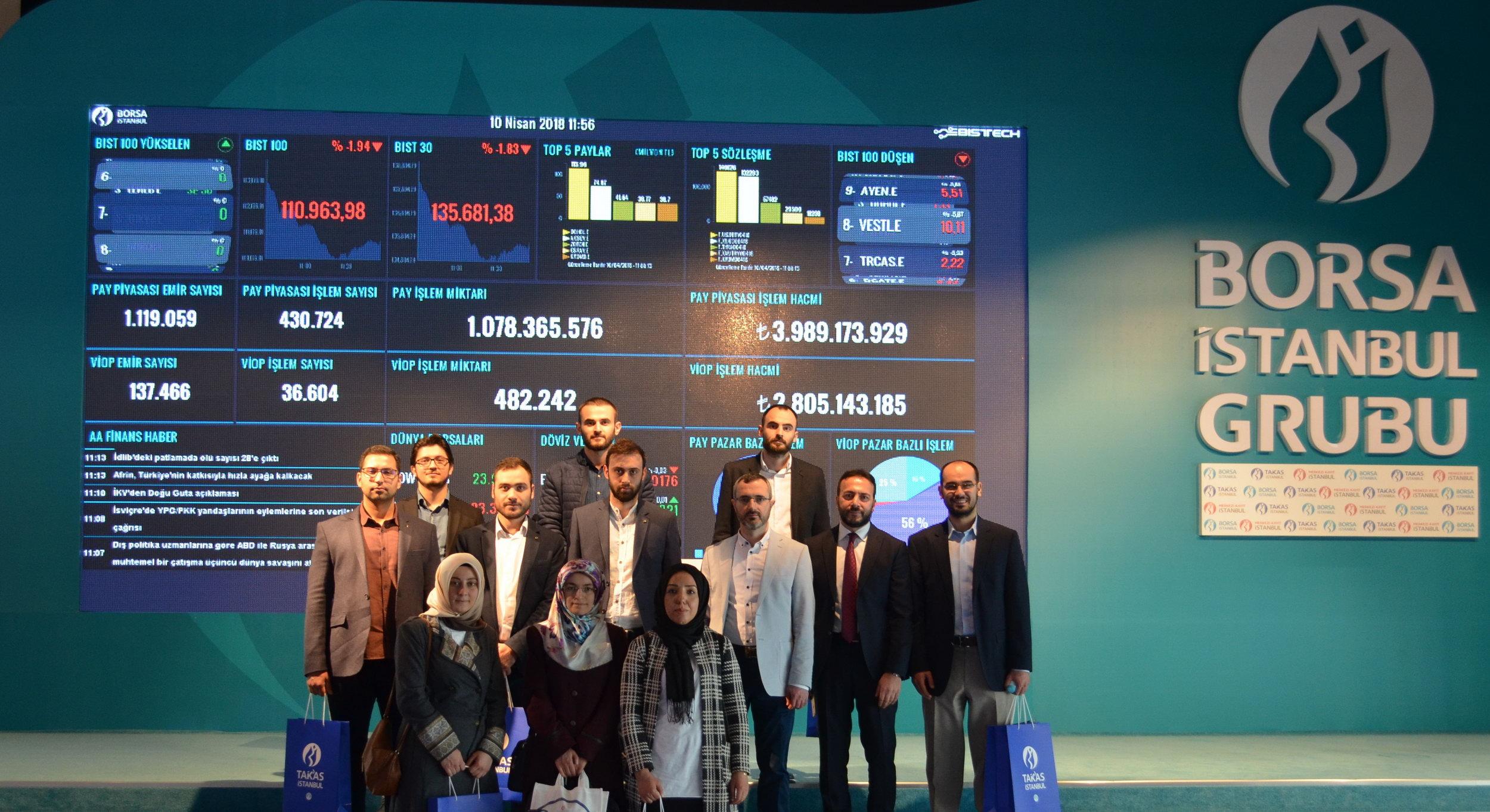 İSEFAM'dan Borsa İstanbul ve Takasbank'a Ziyaret