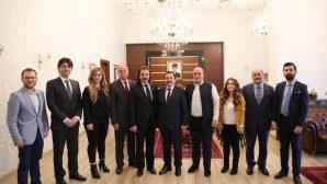 Sakarya MMO'dan Vali Balkanlıoğlu'na ziyaret
