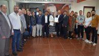 Semiha Bafralıoğlu, kalabalık bir heyetle resmi başvurusunu gerçekleştirdi…