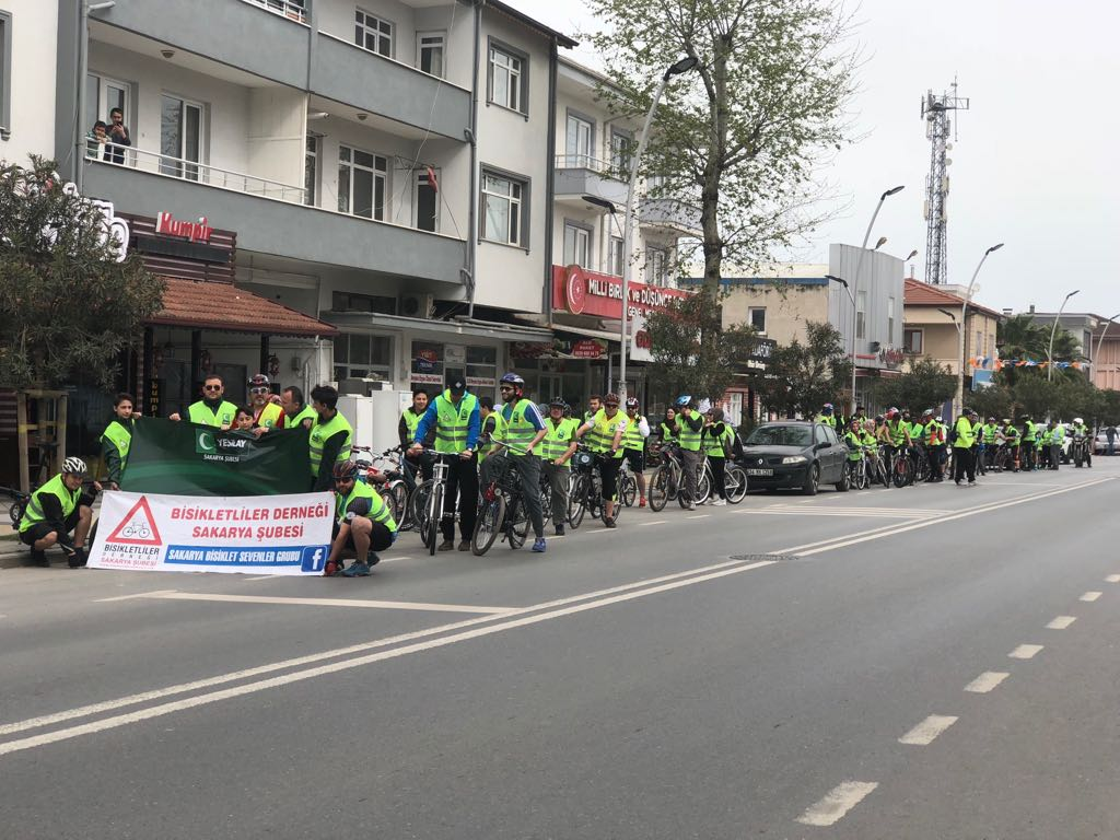 Yeşilay Sakarya Bisiklet Turu etkinliği gerçekleşti