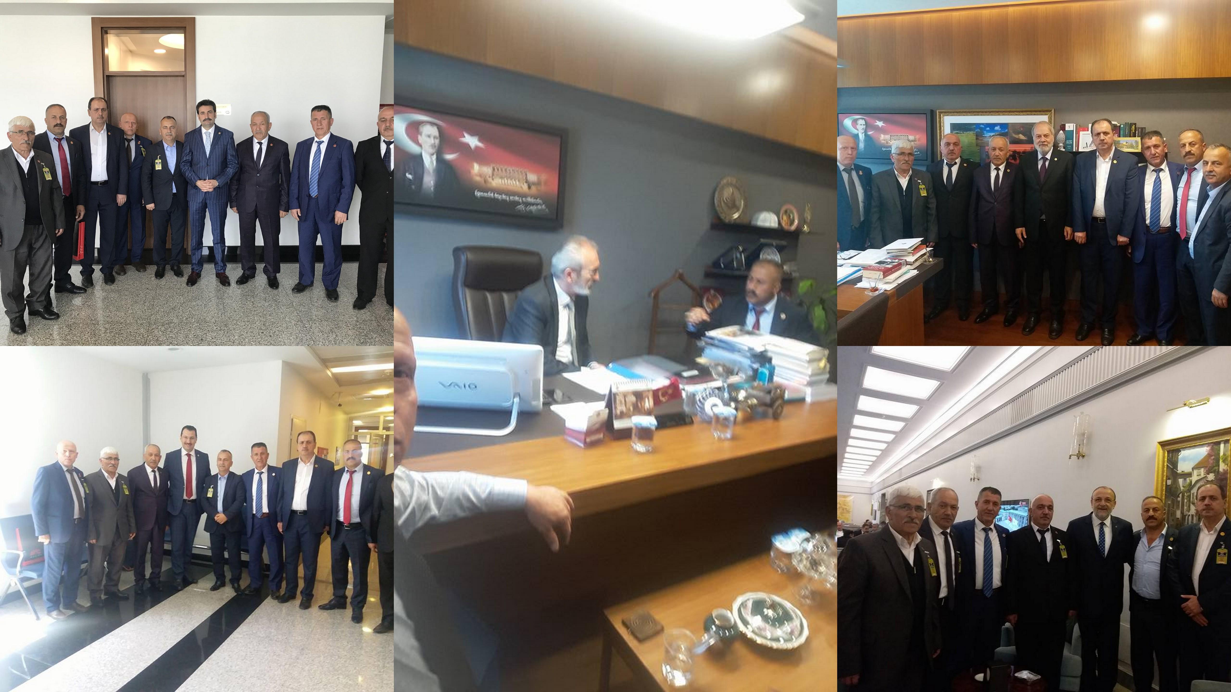 Arifiye'nin Muhtarları Ankara'dan döndü