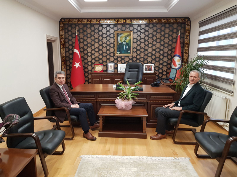 Adapazarı Belediye Başkanı Sayın Süleyman Dişli'den Kaymakamımıza Ziyaret…