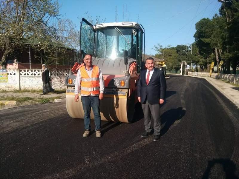 Doğalgaza Kavuşan Arifiye Karaaptiler Mahallesi Abdibey Caddesi yenilendi