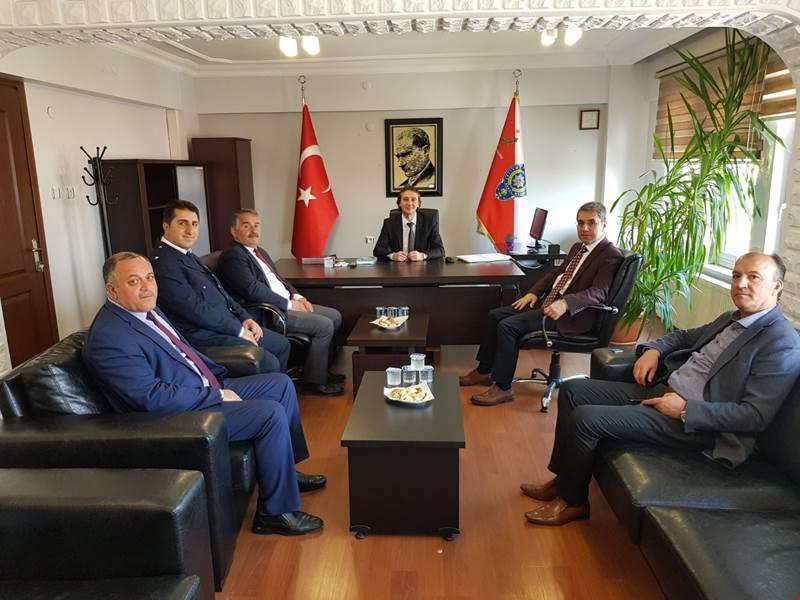 Türk Polis Teşkilatının 173. Kuruluş Yıldönümünde İlçe Emniyet Müdürlüğümüzü Ziyaret Ettiler
