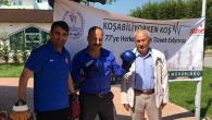 İlçemiz Cumhuriyet Mahallesi Muhtarı Yavuz 'Koşabiliyorken Koş'