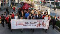 Sakarya'da 57.Alaya Vefa Yürüyüşü Gerçekleştirildi