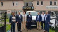 Sakarya'dan kardeş şehre araç desteği