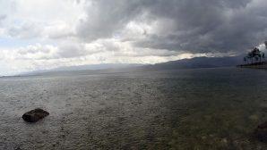 Yağmur yüklü bulutlar böyle görüntülendi