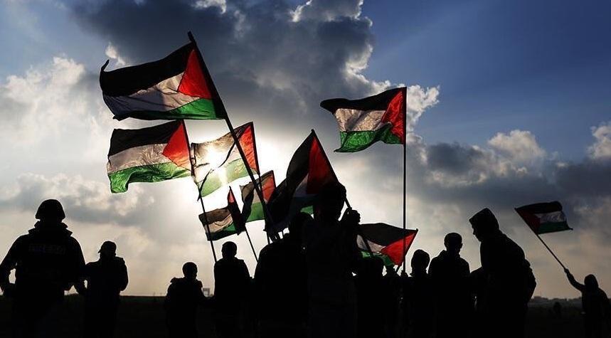 Filistin'e destek için 14.00'da AKM önüne