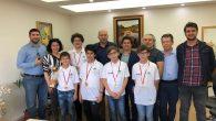 Satranç takımı şampiyonluğa ulaştı