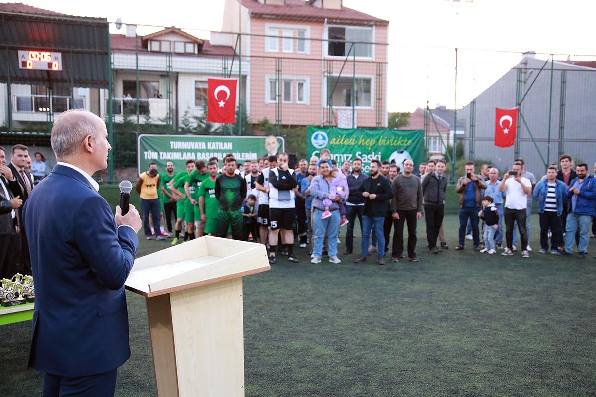 Futbol turnuvası tamamlandı