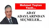 'ADAY ADAYLARINDAN SEÇMELER'