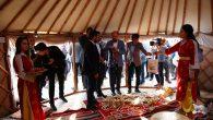 Bilal Erdoğan Sakarya çadırında