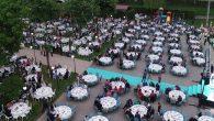 Büyükşehir çalışanları ve aileleriyle iftar yaptı