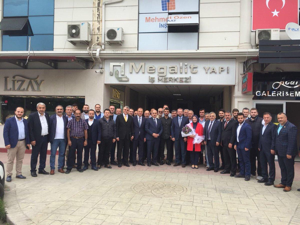 Ak Parti Adayları Arifiye İlçe Teşkilatında
