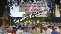 Arifiye Mezunları 26 Mayıs'ta İznik'te iftarda buluşuyor