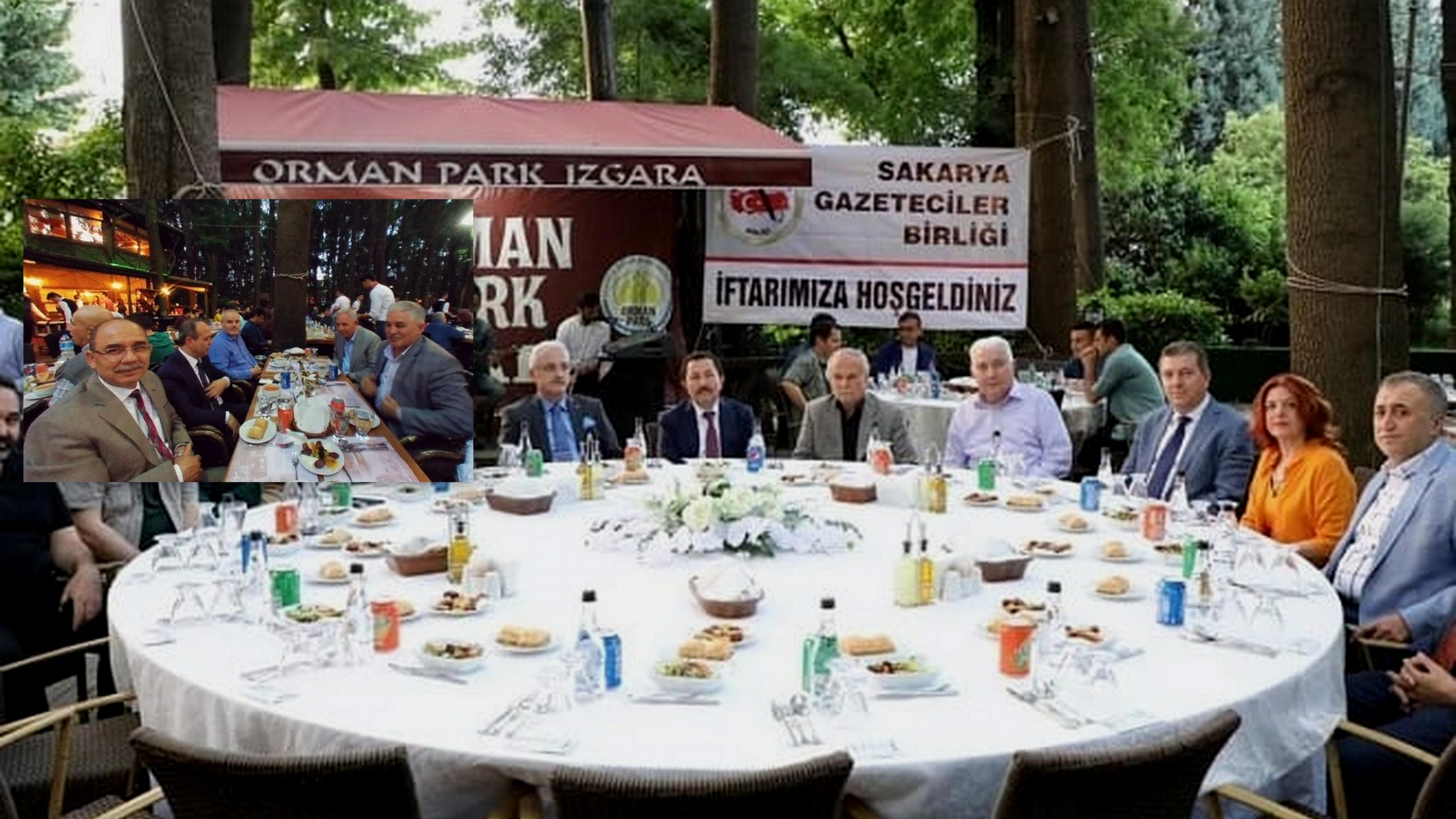 Sakarya Gazeteciler Birliği'nin (SGB) iftarı gerçekleşti