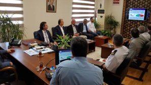 Arifiye'de Siyasi Parti İlçe Başkanları İle Seçim Güvenliği Toplantısı Yapıldı.
