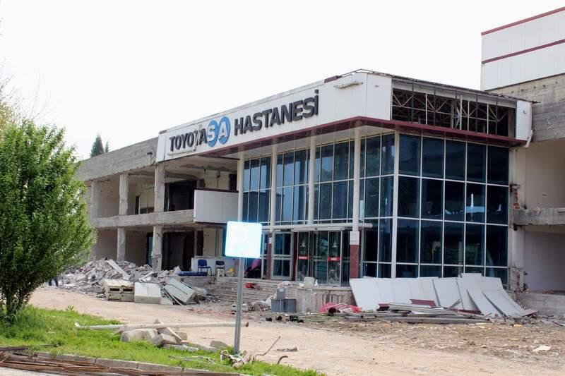 Arifiye Toyotasa Hastanesinin İnşaatı Tüm Hızıyla Sürüyor