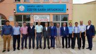 Üzeyir Garih Ortaokulu Yıl Sonu Sergisi Açıldı.