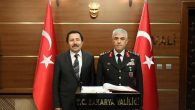 Jandarma Genel Komutanı Orgeneral Arif Çetin Vali Balkanlıoğlu'nu Ziyaret Etti