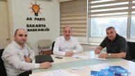 Başkan Toçoğlu, AK Parti İl Başkanlığı'nı ziyaret etti.