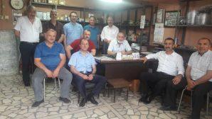 BAYRAKTAR Arifiye'de Sanayi Esnafını gezdi