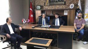 Milletvekili adayı Ekrem YÜCE,'den ARSİADER ziyareti