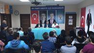 İNCİ'den Ak Parti Arifiye İlçeye teşekkür ziyareti