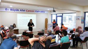 AFAD Gönüllüleri İlk Yardım Eğitimlerine devam ediyor.