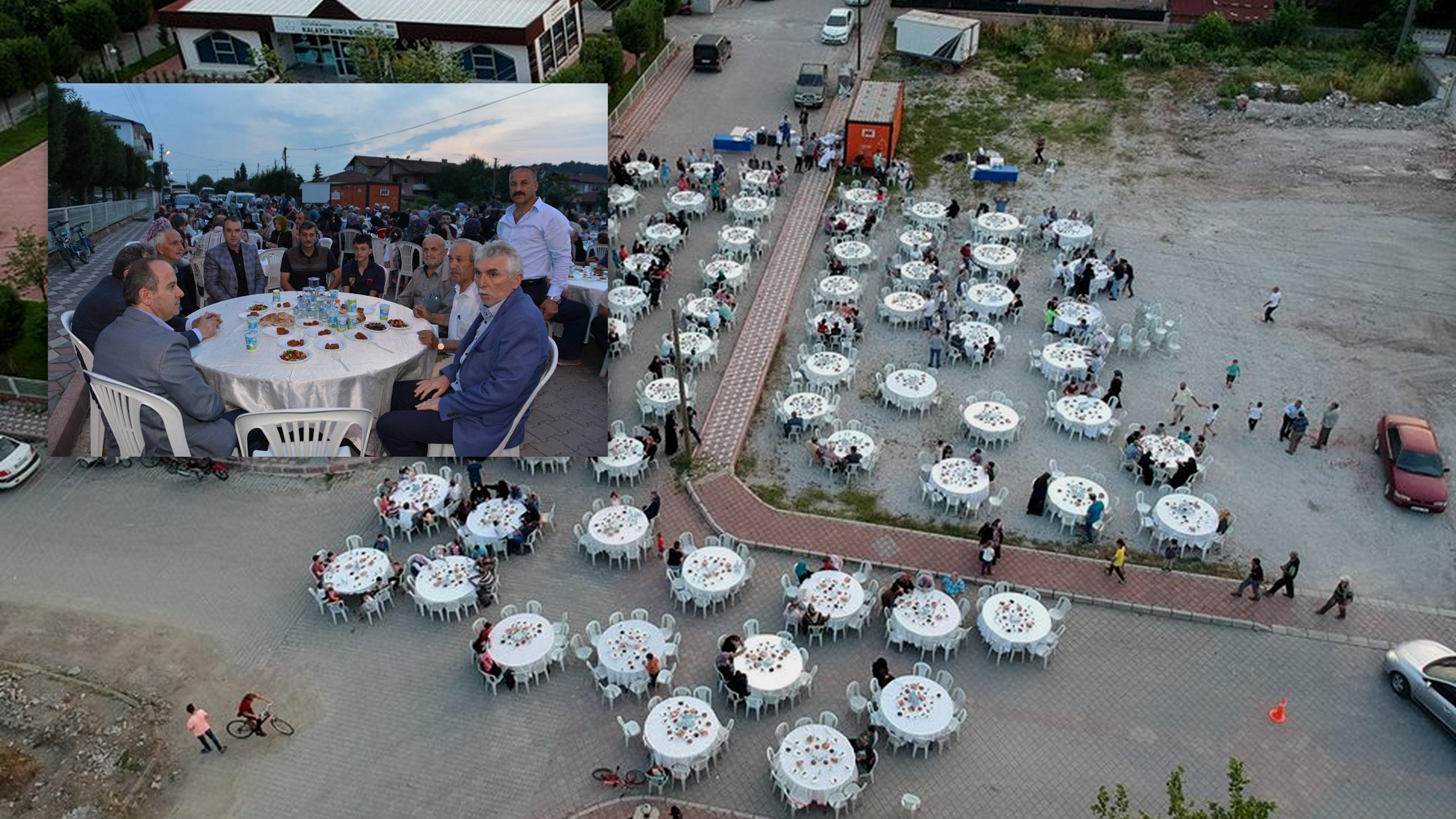 Geleneksel Cumhuriyet Mahallesi iftarı gerçekleşti