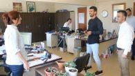 Milletvekili Adayı Sofuoğlu,Gençlik Hizmetleri ve Spor İl Müdürlüğünü Ziyaret Etti