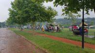 Yağmur'a rağmen Arifiye Gölbaşında piknik keyfi