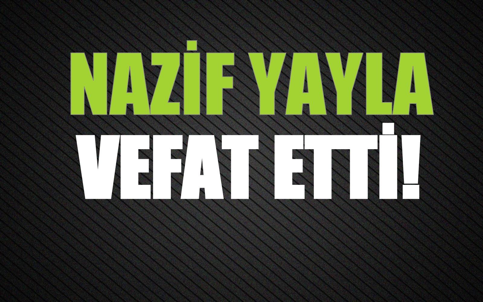 YAYLA AİLESİNİN ACI GÜNÜ!..